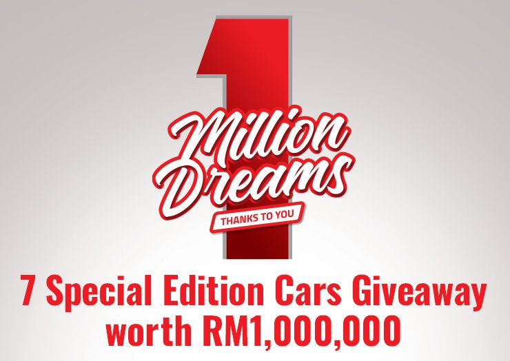 7 Special Edition Cars Giveaway worth RM1,000,000 - thumbnail
