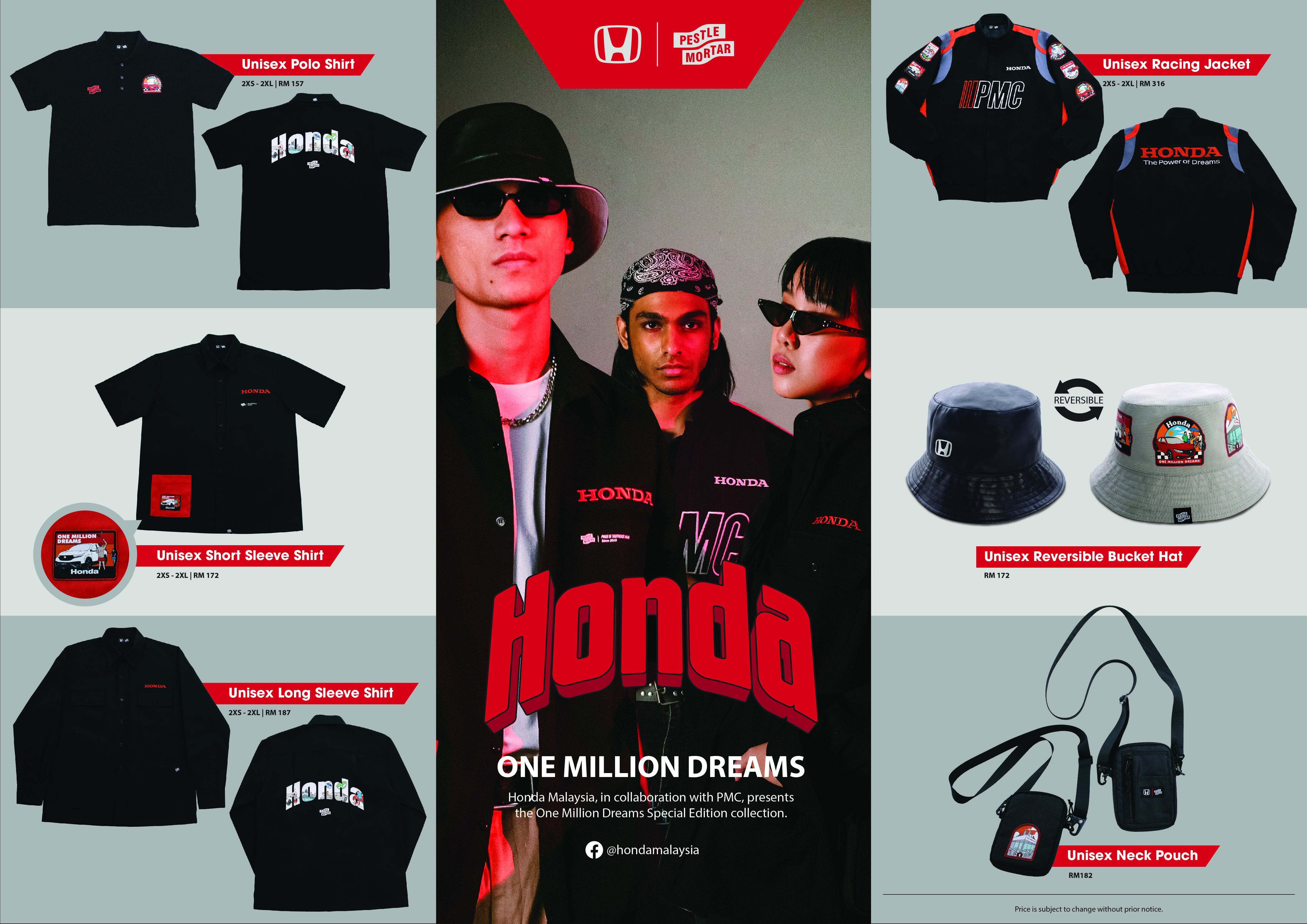 """Honda Malaysia Presents Special Edition Merchandise Exclusively For  """"1MillionDreamsCampaign"""" - thumbnail"""