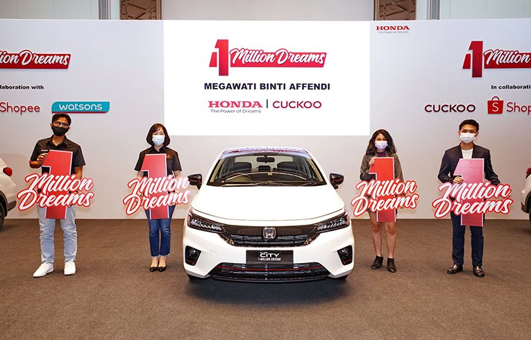 Honda Malaysia Announces Final Three Winners Of The 1 Million Special Edition Models  By BrandPartners - thumbnail