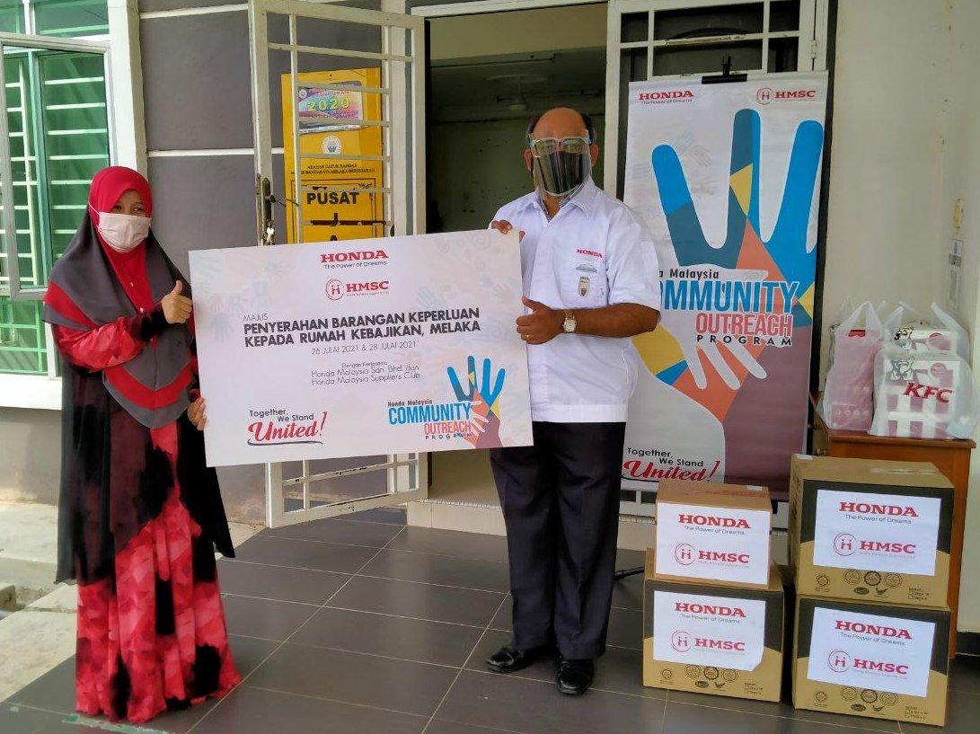 Honda Malaysia Supports Local  Communities InNeed - thumbnail