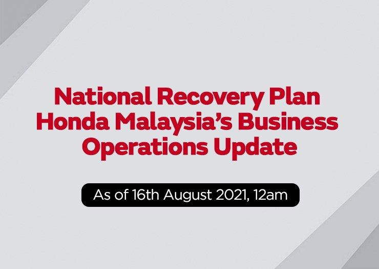 National Recovery Plan - thumbnail