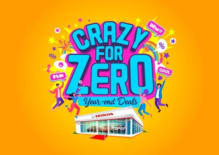 Crazy For Zero Year-end Deals - thumbnail